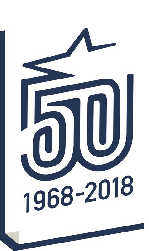 50års emblem